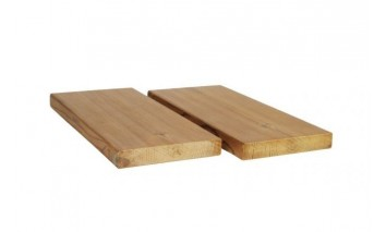 Hladce hoblované prkno SHP 19x117, Thermowood